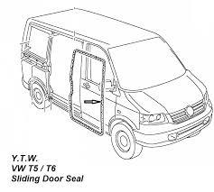 vw transporter t5 t6 sliding door