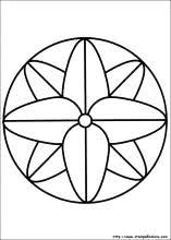 Disegni Di Mandala Da Colorare Con Disegni Da Copiare Facili E Belli