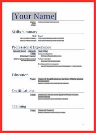 Download First Job Resume Template Haadyaooverbayresort Com It
