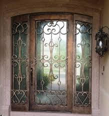 Wrought Iron Entry Doors With Side Lights Scottsdale, AZ