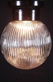 light fixture globe retaining ring fixtures