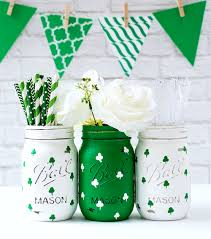 Crafts With Mason Jars St Patricks Day Crafts Recipes In Mason Jars Mason Jar Crafts