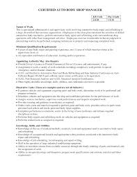 Land Surveyor Auto Body Shop Manager Resume Land Surveyor Cover