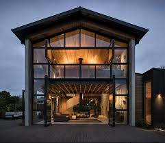 but the inspiration for a modern beach house can still have its roots in the past as this waiheke island project shows