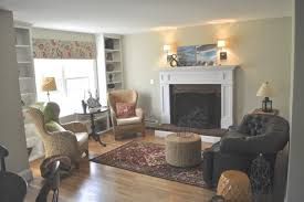 Ranch Living Room Sopo Cottage Creating An Open Floor Plan From A 1940s Ranch Home