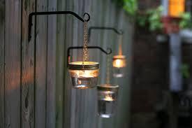 DIY Outdoor Hanging Mason Jar Lights
