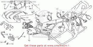 honda cb550k3 four england wire harness horn ignition coil wire harness horn ignition coil schematic
