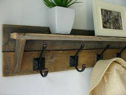 Door Mounted Coat Rack Simple Wall Mounted Coat Hooks With Shelf Coat Rack With Floating Shelf