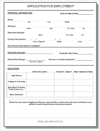 Employee Application Form Word Job Application Template Doc Beautiful Fresh Employee Exit