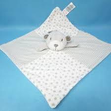 matalan baby grey white teddy bear