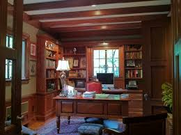 Tudor Study traditional-home-office