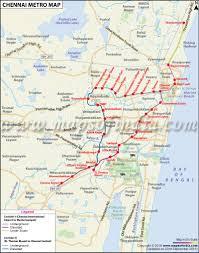 Chennai Metro Rail Map Chennai Metro Stations Routes