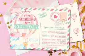 Postcards For Birthday 10 Best Birthday Invitation Postcards Psd Ai Word