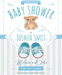shower invitation templates 16 baby shower invitation templates for boys psd ai