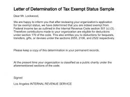 Sample Application Letter For Issuance Of Tax Exemption Ruling In