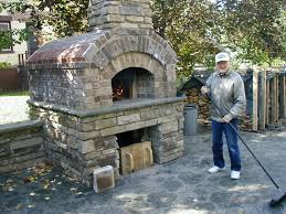 building a small scott style brick oven