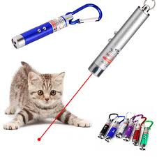 Colorful 3In1 <b>Funny</b> Pet <b>Cat</b> Toys Mini LED Laser <b>Lamp</b> Pointer ...