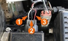 part mass air flow maf sensor test l nissan maxima  circuit descriptions of the nissan maf sensor connector
