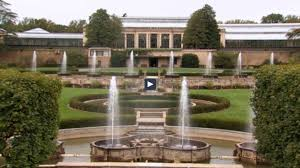 renovation project of 85 year old fountain at longwood gardens outside the lines