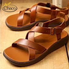 chaco sandal chaco men leather sandal mens wayfarer ウェイヘラー rust 12366134 j106137 ss18
