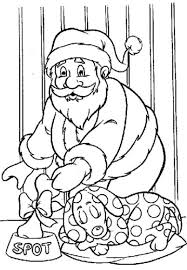 Small Picture Santa Dog Coloring PagesDogPrintable Coloring Pages Free Download