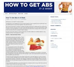 How To Get Abs In A Week Typically Achieving A Full Six Pack Of