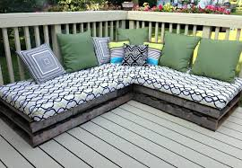 patio bench cushions miraculous patio bench cushions at simple l shaped wooden for patio furniture chair
