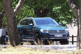 The New Touareg Spied Undisguised - VWVortex