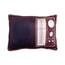 pillow radio. 3d pillows - hipster radio pillow i