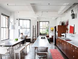 stainless steel kitchen table. View In Gallery Long Stainless Steel Dining Table Kitchen
