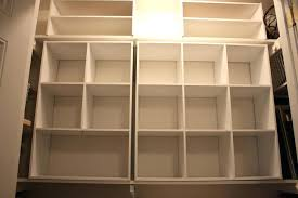 how to build shelves in a closet for storage awesome beautiful closet cube storage closet cubes