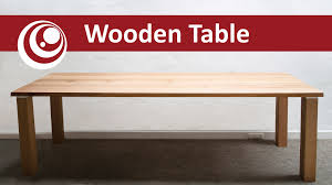 How to make your own Dining Table - Work Desk, easy and cheap - YouTube