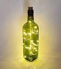 home lighting lamps bottle lamp with led light inside home decoration cork light wine bottle fairy light