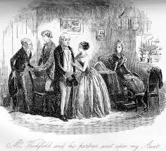 mr wickfield and his partner wait upon my aunt illustration for  mr wickfield and his partner wait upon my aunt
