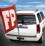 fan pole. fanpole truck flagpole fan pole