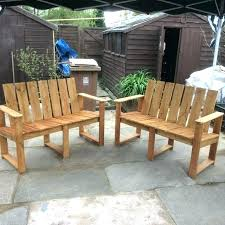 outside pallet furniture. Pallet Garden Benches Hand Painted To  Picture Bench Outside Furniture