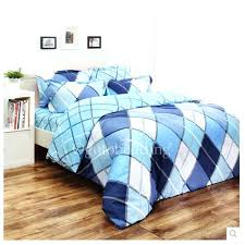 boys blue bedding shabby chic blue plaid cool teen bedding sets for boys home ideas centre