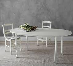 chloe extending oval dining table pottery barn