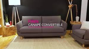 excellent ep finn canap convertible la maison du convertible with maisons du convertible