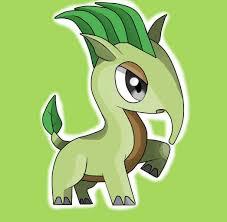 Macrauleaf Pokémon Macrauchenia Tipo planta Es el pokémon inicial de tipo  planta de la región de Erlo. Es un pokemon un poco cabezota pe…