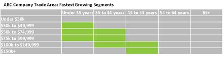 Market Segmentation Product Profitability Payments Leader
