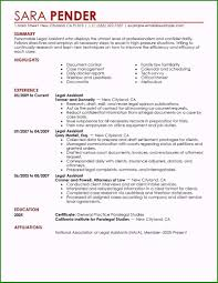 Lawyer Resume Sample Very Best Best Legal Assistant Resume