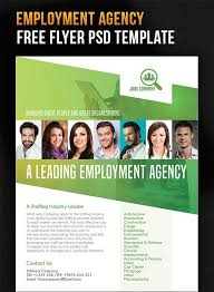 Employment Agency – Free Flyer PSD Template | Design Stuff ...