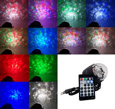 Buy Trippy 15 Colors Dj Disco Ball Water Wave Projector