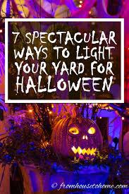 halloween lighting tips. 7 Spectacular Ways To Create Spooky Halloween Outdoor Lighting Tips