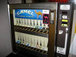 Old School Cigarette Vending Machine Simple PARENTS' ANGER As CIGARETTE MACHINE Is Installed By Accident In