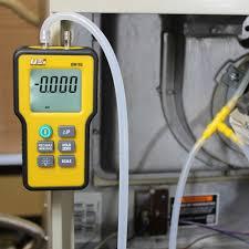 digital manometer. uei em152 dual differential digital manometer, -60 to +60 inh2o (em152 in manometer