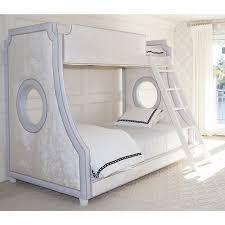 luxury baby furniture. Unique Baby Gramercybunkbedhopsackblueandopulencecremepolishnickel1280jpg Throughout Luxury Baby Furniture O