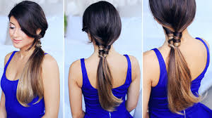 Luxy Hair Style figure 8 ponytail tutorial youtube 6703 by wearticles.com