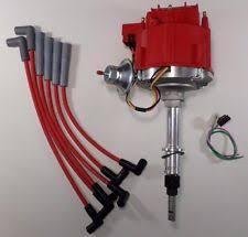 6 cylinder distributor amc jeep inline 6 232 258 6 cylinder hei distributor red plug wires